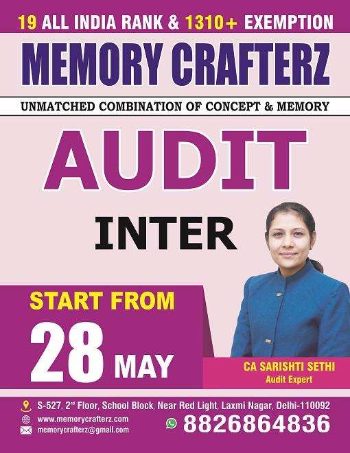 CA Audit Inter Institute & Coaching Classes