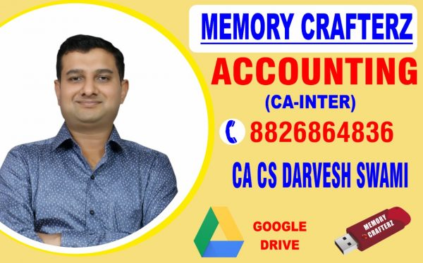 CA Inter Accounting Pendrive Course & Online Classes