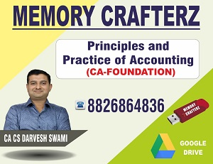 CA Foundation Accounting Pendrive Course & Online Classes
