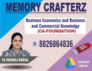CA Foundation Economics Pendrive Course & Online Classes
