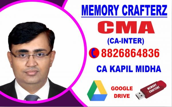 CA Inter Cost & Management Accounting Pendrive Course & Online Classes