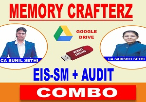 CA Inter eis sm audit Pendrive Course & Online Classes