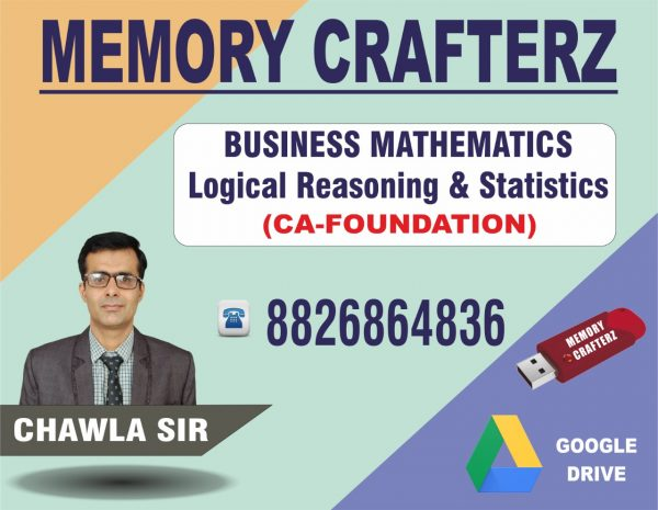 CA Foundation Maths Pendrive Course & Online Classes