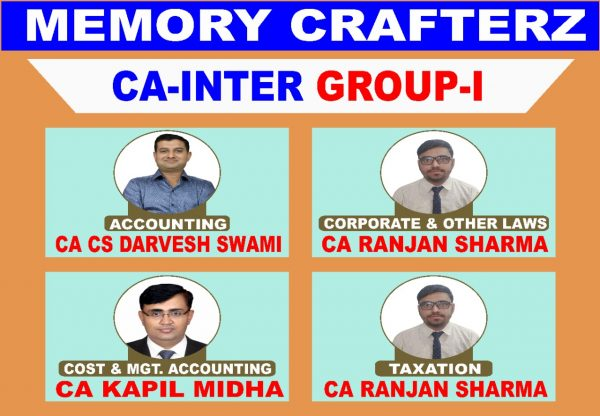 CA Inter Group 1 Pendrive Course & Online Classes