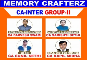 CA Inter Group 2 Pendrive Course & Online Classes