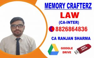 CA Inter Law Pendrive Course & Online Classes